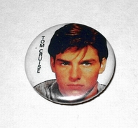 Tom  Cruise -  Année 80 Vintage  - Badge épingle Diam 25 Mm - Films