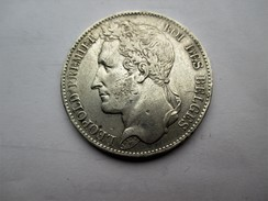Belgique 5 Francs 1849 - 11. 5 Francos