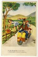 Carte Humoristique Scooter ....... Année 1959 - Andere