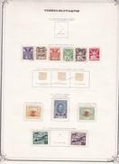 Tchécoslovaquie - Collection Vendue Page Par Page - Timbres Oblitérés / Neufs * Avec Charnière - B/TB - Oblitérés
