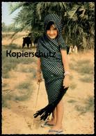 ÄLTERE POSTKARTE NADA BEAUTY OF THE DESERT SAUDI ARABIA Girl Enfant Traditional Costume Ansichtskarte Postcard AK Cpa - Saudi-Arabien