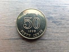 Hong-kong  50  Cents  1998  Km 68 - Hong Kong