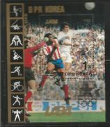 1984 Korea Los Angelas Summer Olympics Football Basketball Gymastics LIMITED EDITION Of 6 Souvenir Sheets MNH Scott $100 - Estate 1984: Los Angeles