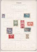 Turquie - Collection Vendue Page Par Page - Timbres Oblitérés / Neufs * Avec Charnière - B/TB - Usati