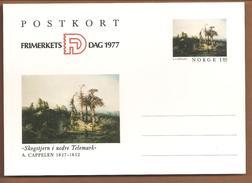 Norge Postkort. Frimerkets Dag 1977 - Entiers Postaux