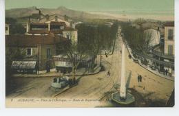 AUBAGNE - Place De L'Obélisque - Route De Roquevaire - Aubagne