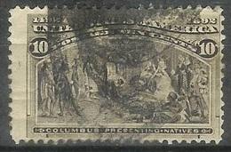 1893 10 Cents Columbian Used - Usati