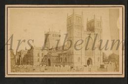 Photo-carte De Visite / CDV / W / 2 Scans / England / Southwell Minster / J. Whittingham & Son / Southwell - Lieux