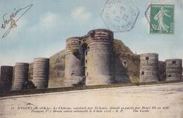 Angers - Le Château, Construit Par St-Louis, Démoli En Partie Par Henri III En En 1585 - Angers