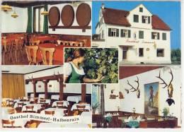 HALBENRAIN  Gasthof SIMMERL Sondermarke Rilke 1977 - Österreich