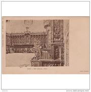 LNTP8009CPA-LFT4266TBES.Tarjeta Postal De LEON.IGLESIA.ARTE.Escultura.Silleria.Coro Del CONVENTO DE SAN MARCOS.Leon - Esculturas