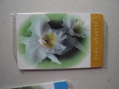 THAILAND  MINT  CARDS  RARE FLOWERS - Tailandia