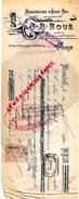 75- PARIS -TRAITE B. BOUE -MANUFACTURE ACIER POLI- USINE A AMIEL- 23 RUE STE CROIX BRETONNERIE- 1921 - 1900 – 1949