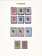 Luxembourg - Collection Vendue Page Par Page - Timbres Oblitérés / Neufs * Avec Charnière - B/TB - Luxemburg