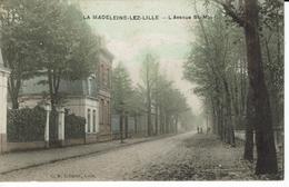 59-LA MADELEINE LEZ LILLE-L'AVENUE SAINT MAUR - La Madeleine