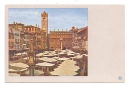 I 37000 VERONA, Piazza Erbe, Farbphoto Miethe - Verona