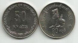 Myanmar  50  Kyats  1999. KM#63 - Birmania
