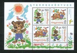 UNGARN Mi.Nr. Block 334 Europa:  Kinderbücher - 2010 - MNH - 2010