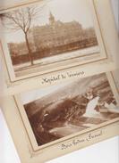 Verviers Lot 2 Anciennes Photos Sur Carton - Places