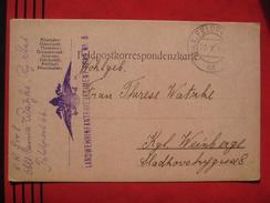 Feldpost: KuK Feldpostamt 66 - Feldpostkarte 1916? - Poststempel - Freistempel