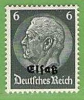 MiNr.4 Xx Deutschland Besetzte Gebiete II.WK Elsass - Occupation 1938-45