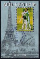 B5297 CHAD (Tchad) 1999, Millennium, Cricket Brian Lara,   Used - Tschad (1960-...)