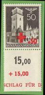 MiNr.54 UR Xx Deutschland Besetzte Gebiete II.WK  General Gouvernement - Besetzungen 1938-45