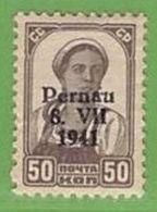 MiNr.10II. X Deutschland Besetzte Gebiete II.WK Estland,Pernau - Bezetting 1938-45