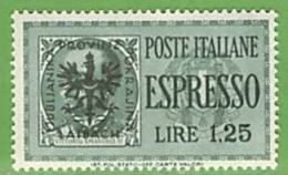 MiNr.20 Xx Deutschland Besetzte Gebiete II.WK Laibach - Occupation 1938-45