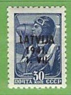 MiNr.6 Xx Deutschland Besetzte Gebiete II.WK Lettland - Besetzungen 1938-45