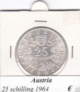 AUSTRIA   25  SHILLING   1964  COME DA FOTO - Austria