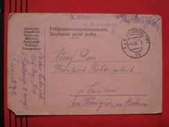 Feldpost: KuK Feldpostamt 79 - Feldpostkarte 1916 - Poststempel - Freistempel