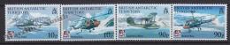 British Antarctic Territory - Antartique Britannique 2008 Yvert 488- 91, Aircraft Centenary - MNH - British Antarctic Territory  (BAT)