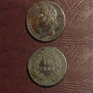 COLONIES FRANÇAISES -  10 CENT. Charles X Pour La Guyane- 1829 A, Paris - Colonies