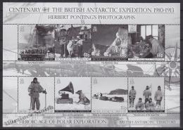 British Antarctic Territory - Antartique Britannique 2010 Yvert 516- 23, British Antarctic Expedition - MNH - Territorio Antártico Británico  (BAT)