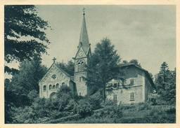 CPA Dentelée - HOHWALD (67) - Aspect De L'Eglise Protestante Dans Les Années 40 / 45 - Other Municipalities