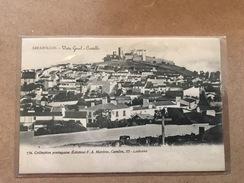 PORTUGAL. ARRAYOLO. VISTA GERAL E CASTELLO. Nº 732. COLLECTION PORTUGAISSE EDICTEUR F.A. MARTINS. LISBONNE - Portugal