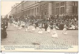 ANVERS - ANTWERPEN / FÊTES JUBILAIRES En AOÛT 1912 / BLOEMENSTROEISTERS - JEUNES FILLES SEMANT DES FLEURS - Otros