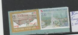Kroatien 001 / Fragment Mit 2 Marken 2001  O - Kroatien