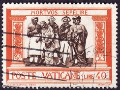 VATICAN 1960 - YT 308 - Enterrer Les  Morts - Oblitéré - Vatican