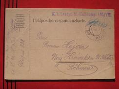 Feldpost: Etappenpostamt 328 - Feldpostkarte 1916 - Poststempel - Freistempel