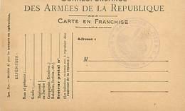 A-17-4418 : CARTE CORRESPONDANCE MILITAIRE EN FRANCHISE POSTALE. 85° SECTION 1/2 FIXE D.C.A. - Marcofilia (sobres)