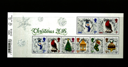 GREAT BRITAIN - 2016  CHRISTMAS  MS MINT NH - Blocchi & Foglietti