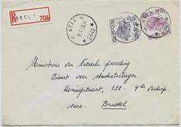 Doc. De GEEL 6 (2440)  Le 06/04/1976  En Rec. De Geel 1 - Marcophilie