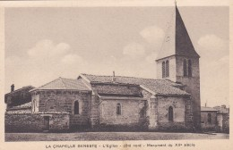 23L - 43 - La Chapelle-Geneste - Haute-Loire - L'Eglise - Côté Nord - Monument Du XIIe Siècle - Non Classés