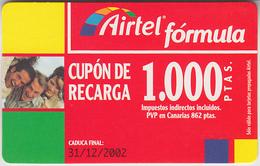 ESPAGNE -  GSM & RECHARGE ***  AIRTEL - 1.000 *** - Spanje