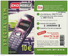Reunion - EkoMobile - XTS Telecom - 10 E - Reunion