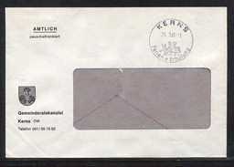 Schweiz, Suisse, Pauschalfrankiert, 1961,  Kerns - Lettres & Documents