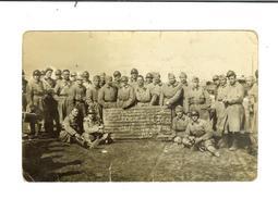 """Militaria- Groupe Soldats Du 372 RALVF Carte-photo """"Pour La Classe 261² Du 23 Au Jus"""" - Ohne Zuordnung"""