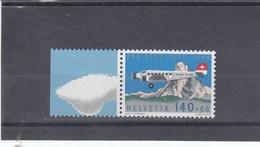 Suisse - Neufs** - Cinquantenaire Pro Aéro -  Année 1988 - YT PA 49 - Nuovi